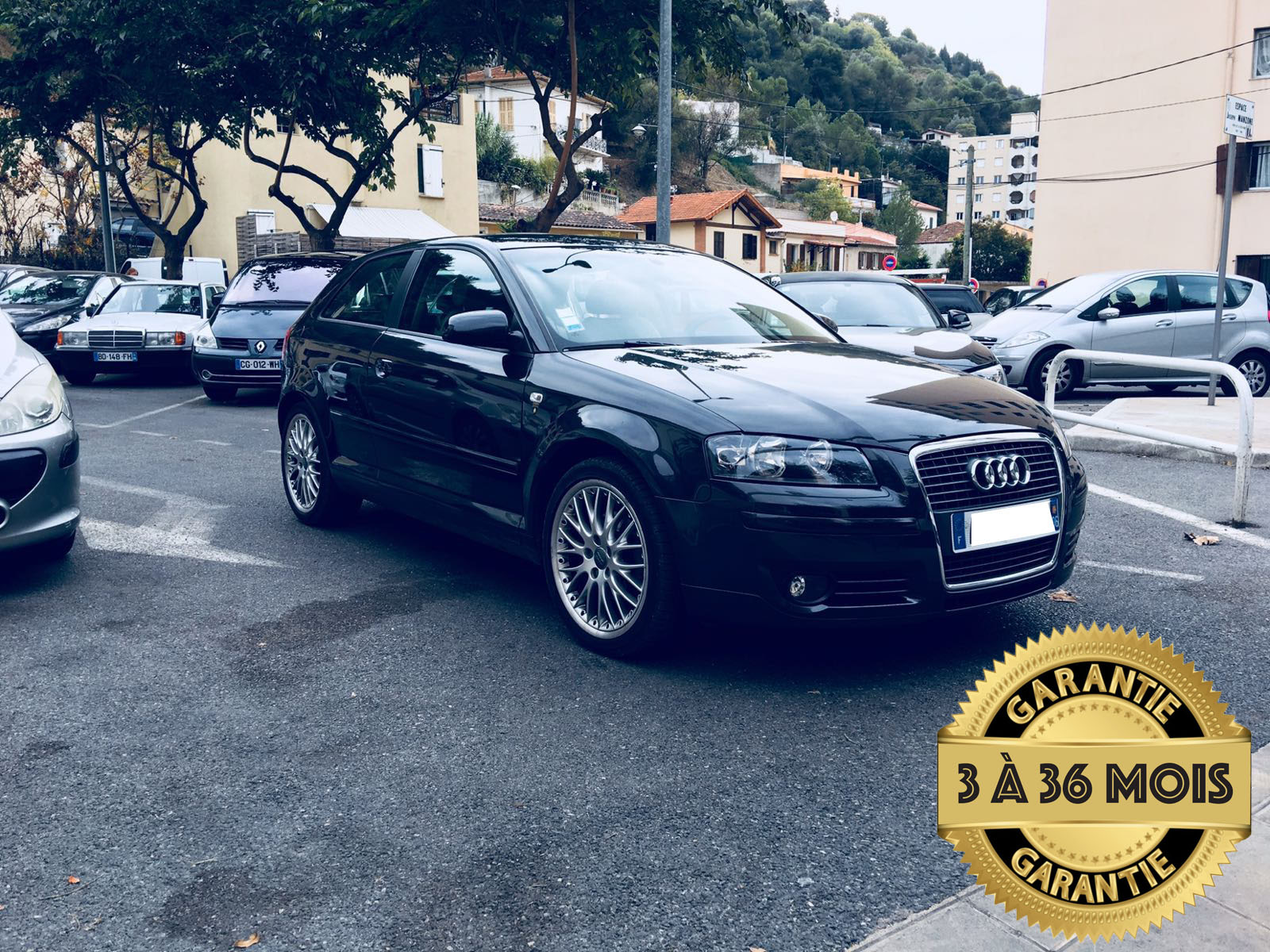voiture audi a3 2 0 tdi ambition s tronic a occasion diesel 2008 68000 km 11990 nice. Black Bedroom Furniture Sets. Home Design Ideas